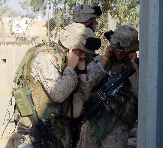 Image result for army hearing loss