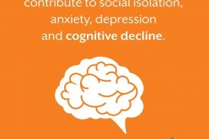 Hearing loss can lead to social isolation
