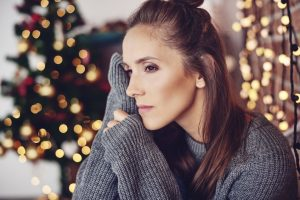 Hearing loss and the holiday blues